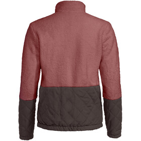 VAUDE Manukau Giacca In Pile Donna, dusty rose